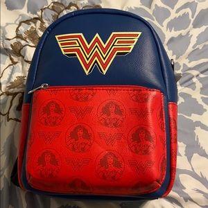 Wonder Woman mini backpack